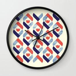 Dutch Tulip Wall Clock