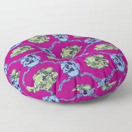 Xanadu - Magenta Floor Pillow