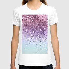 Unicorn Girls Glitter #6 (2019 Version - Faux Glitter) #shiny #pastel #decor #art #society6 T-shirt