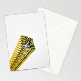 Error 404: Common Sense Not Found Stationery Cards