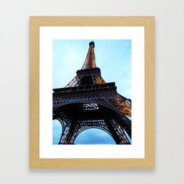 Eiffel Tower at Dusk Framed Art Print