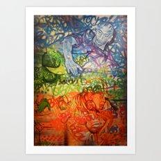 Legendary Deejays Art Print