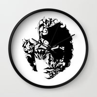 dylan Wall Clocks featuring Dylan by KATA