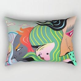 The Same Idea Rectangular Pillow