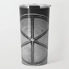 Metal Surface On Ship Travel Mug