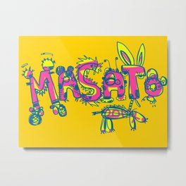 Masato Zoo Tokyo Metal Print