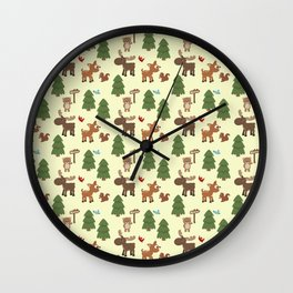 WELCOME TO MAINE Wall Clock