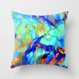 Cascading Waterfall Throw Pillow