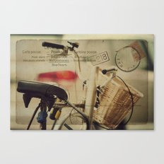 I just want to ride my bike today Canvas Print