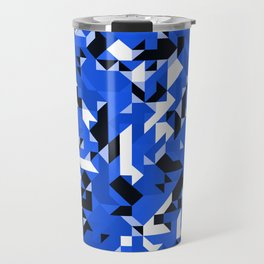 Off-Beat Geometric Shapes V.14 Travel Mug