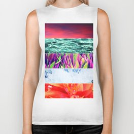Photography Collage Biker Tank