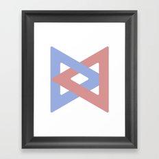 Infinity Clip Framed Art Print