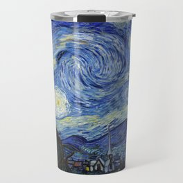 Starry Night by Vincent Van Gogh Travel Mug