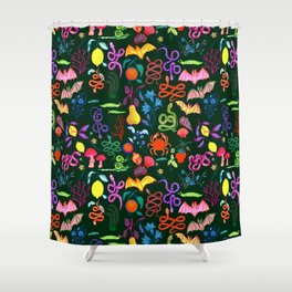 Creepers Shower Curtain