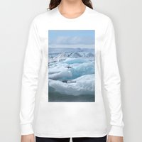 iceland Long Sleeve T-shirts featuring Jökulsarlon Iceland by seraphina