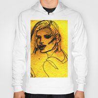 one line Hoodies featuring One Line by MRSCM Illustration