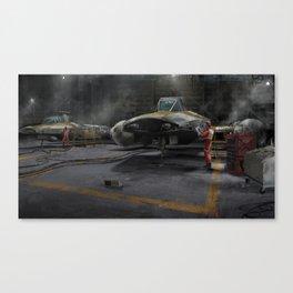 Y-Wing Hangar Canvas Print