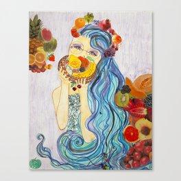 underwater market Canvas Print