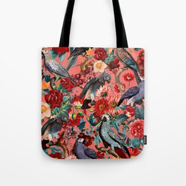 FLORAL AND BIRDS XIX Tote Bag