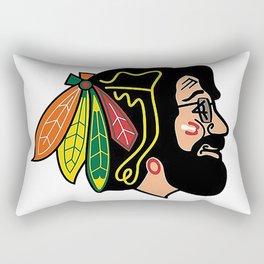 jerry hawk Rectangular Pillow