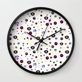 Cultivating Creature Confetti Wall Clock