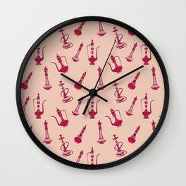 Persian Hookah Wall Clock