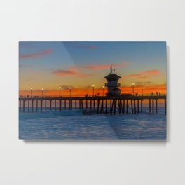 Colors After Sunset Metal Print
