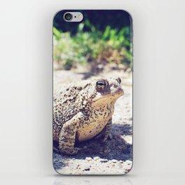 Croak iPhone Skin