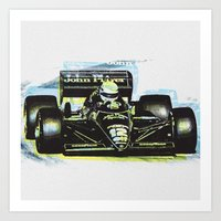 senna Art Prints featuring Senna III by Ricca Design Co.