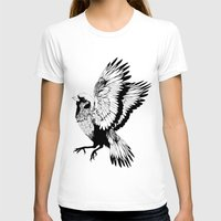 sparrow T-shirts featuring Sparrow by akreon