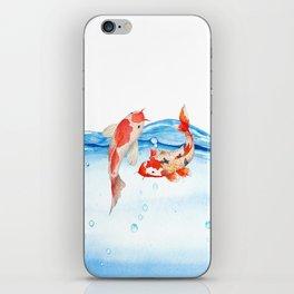 Happy koi fish- fishes sea water lake iPhone Skin