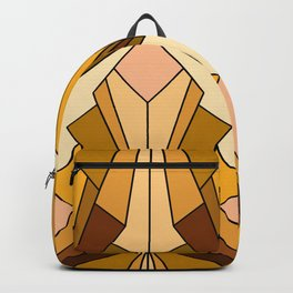 Art Deco meets the 70s - Large Scale Backpack