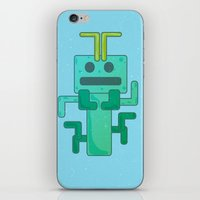 bug iPhone & iPod Skins featuring BUG by Annretro