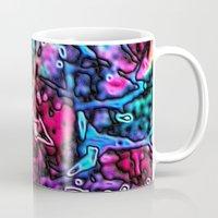 Objects Floating in Aurora2 Mug