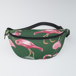 Flamingos Love Pattern 5 Fanny Pack
