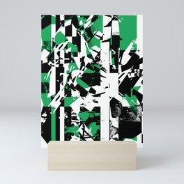 Shattered Box T1 - Green version Mini Art Print
