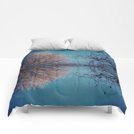 Classic Cinema #Tree #Branches #CuriousSparrow Comforters
