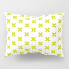CROSS ((chartreuse)) Pillow Sham