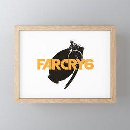 Far Cry 6 Grenade Framed Mini Art Print