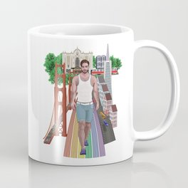 Men of the San-Francisco and Castro District Coffee Mug