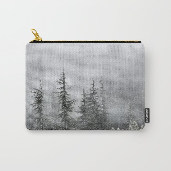 """""""Into The Foggy Woods"""" Wander. Yesterday at the mountains Carry-All Pouch"""