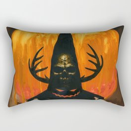 Autumn Acolyte Rectangular Pillow