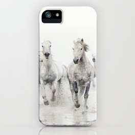 Ghost Riders - Horse Art iPhone Case