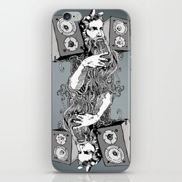 Double Stereo Moses iPhone Skin