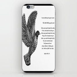God Called Your Name iPhone Skin