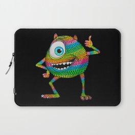 Mike Wazowski fan art by Luna Portnoi Laptop Sleeve
