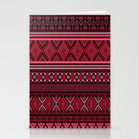 "greek Stationery Cards featuring GREEK pattern by ""CVogiatzi."