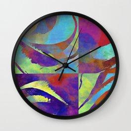 Color move I Wall Clock