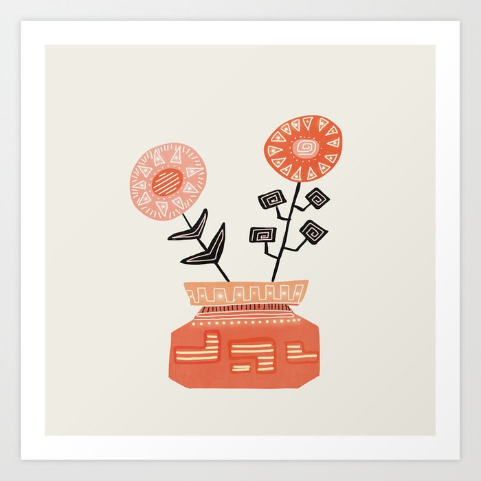 Floral vibes V Kunstdrucke