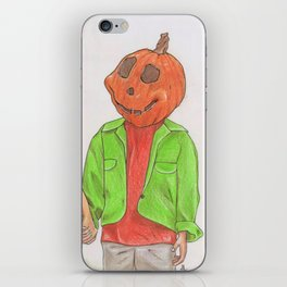 Halloweentown Citizens iPhone Skin